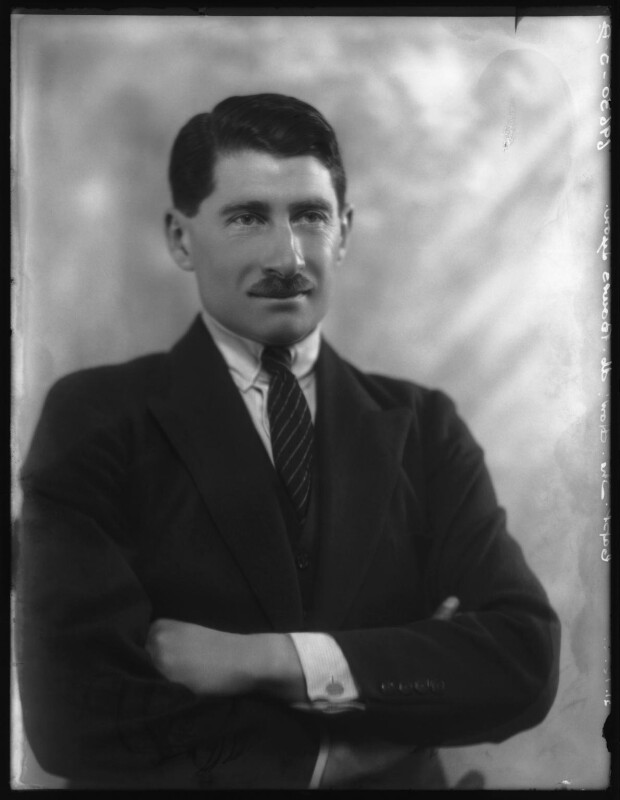 Hon. Michael Claude Hamilton Bowes-Lyon, by Bassano Ltd, 21 December 1927 - NPG x124143 - © National Portrait Gallery, London