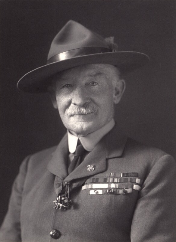 Robert Baden-Powell, by Walter Stoneman, 1927 - NPG x16913 - © National Portrait Gallery, London
