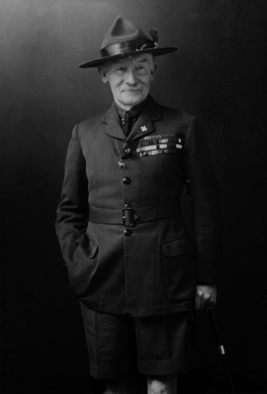 Robert Baden-Powell, by Walter Stoneman, 1927 - NPG x357 - © National Portrait Gallery, London