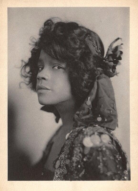 Aida Overton Walker in 'In Dahomey', by Cavendish Morton, 1903 - NPG x46664 - © National Portrait Gallery, London