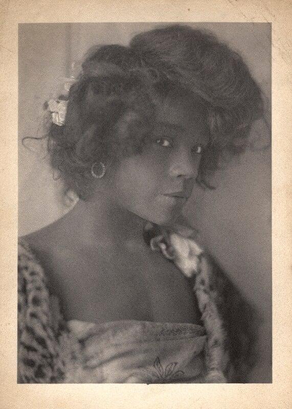 Aida Overton Walker in 'In Dahomey', by Cavendish Morton, 1903 - NPG x46665 - © National Portrait Gallery, London