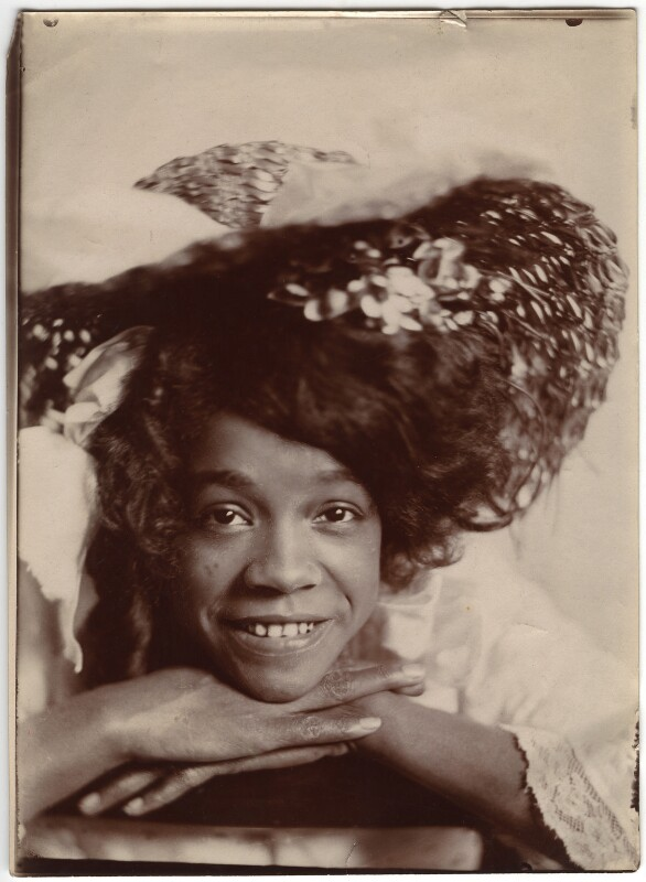 Aida Overton Walker in 'In Dahomey', by Cavendish Morton, 1903 - NPG x46666 - © National Portrait Gallery, London