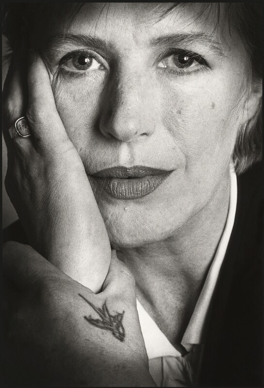 Marianne Faithfull, by Barry Marsden, 1990 - NPG x39361 - © Barry Marsden