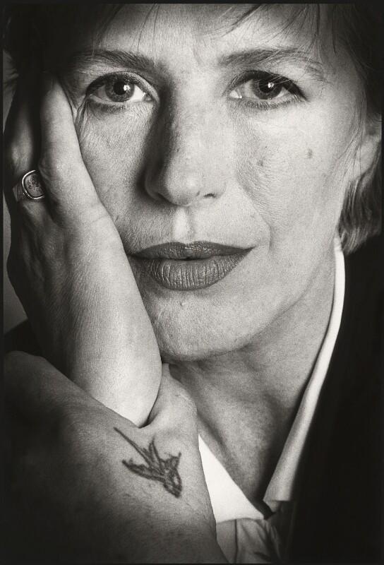 Marianne Faithfull, by Barry Marsden, 1990 - NPG x39361 - © Barry Marsden