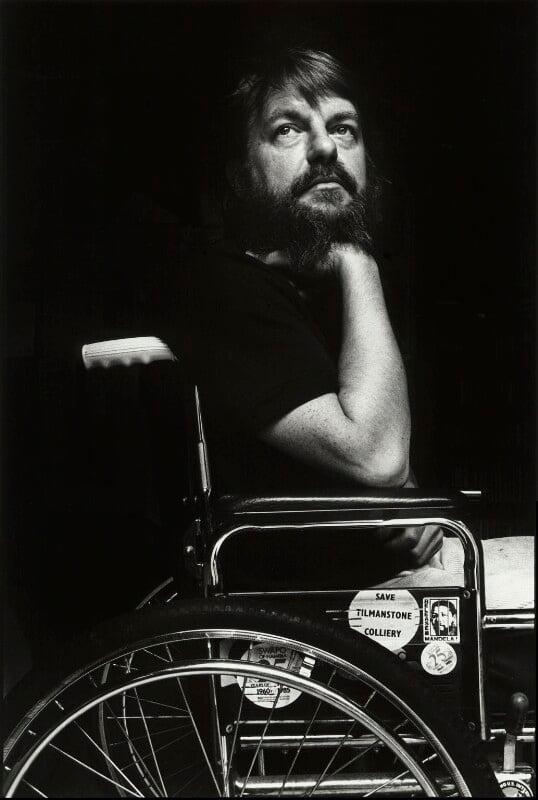 Robert Wyatt, by Barry Marsden, 1985 - NPG x39376 - © Barry Marsden