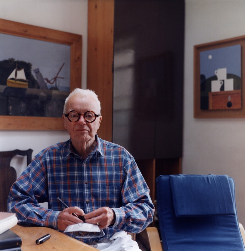 Kenneth Rowntree, by Bernard Mitchell, 1996 - NPG x77055 - © Bernard Mitchell