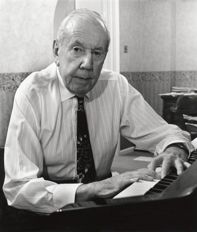 Sir Malcolm Henry Arnold, by George Newson, 14 November 1994 - NPG x76889 - © George Newson / Lebrecht Music & Arts