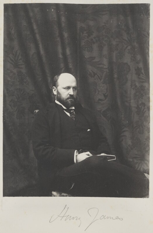 Henry James, by Cyril Flower, 1st Baron Battersea, early 1890s - NPG Ax15604 - © National Portrait Gallery, London