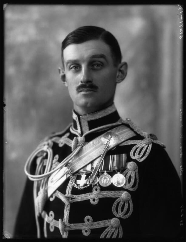 Denzil George Fortescue, 6th Earl Fortescue, by Bassano Ltd, 28 February 1928 - NPG x124263 - © National Portrait Gallery, London