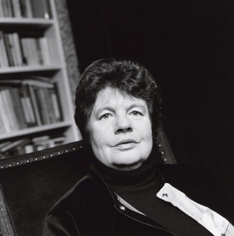 A.S. Byatt, by Norman McBeath, 29 October 1997 - NPG x126410 - © Norman McBeath / National Portrait Gallery, London