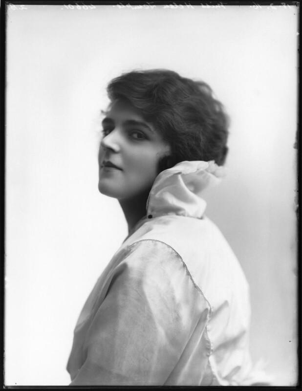 Helen Temple, by Bassano Ltd, 18 February 1916 - NPG x102606 - © National Portrait Gallery, London