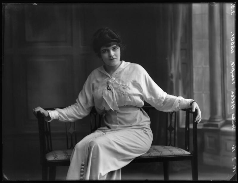 Helen Temple, by Bassano Ltd, 18 February 1916 - NPG x102607 - © National Portrait Gallery, London