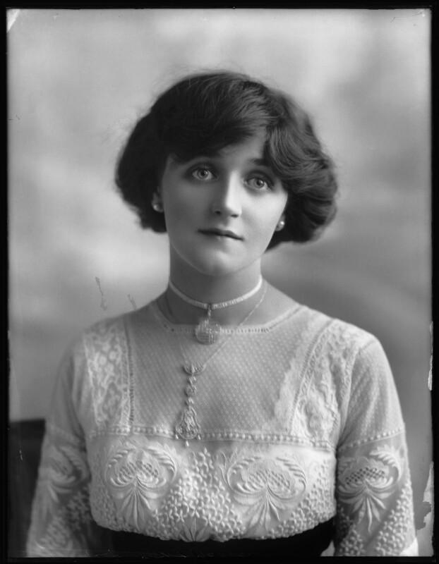 Dorrie Keppel, by Bassano Ltd, 13 September 1911 - NPG x102618 - © National Portrait Gallery, London