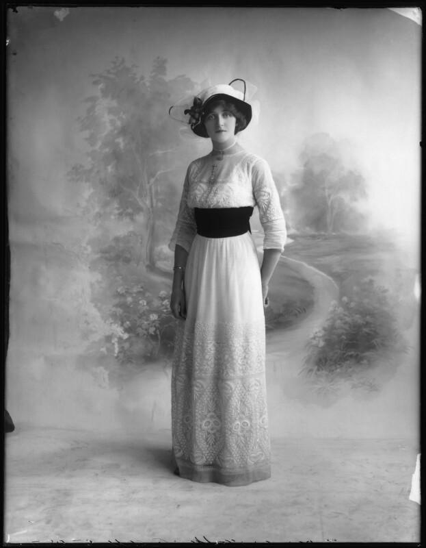 Dorrie Keppel, by Bassano Ltd, 13 September 1911 - NPG x102619 - © National Portrait Gallery, London