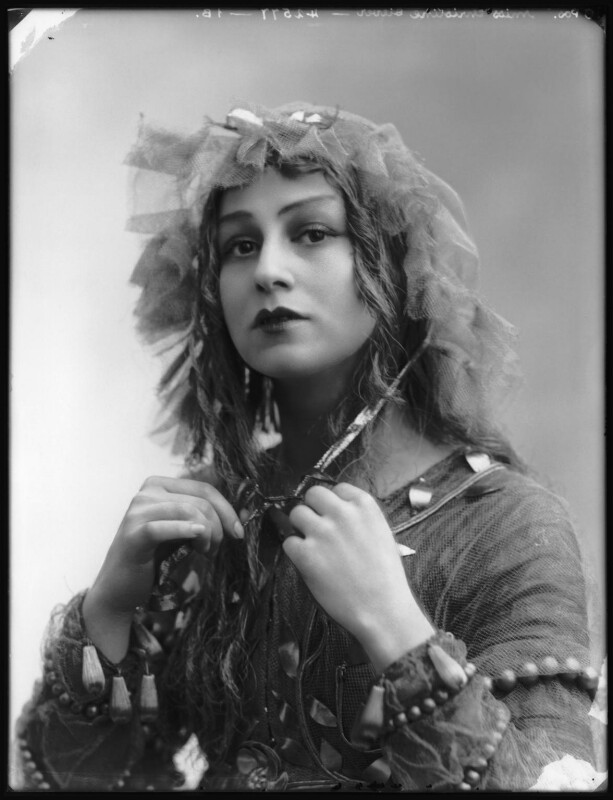 Christine Silver as Titania in 'A Midsummer Night's Dream', by Bassano Ltd, 1913 - NPG x102647 - © National Portrait Gallery, London