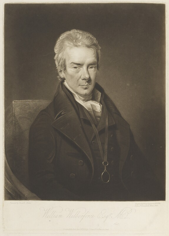 William Wilberforce, by William Say, published by and after  Joseph Slater, published 18 April 1820 - NPG D19023 - © National Portrait Gallery, London