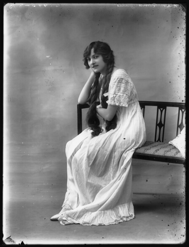 Roma June, by Bassano Ltd, 1914 - NPG x102695 - © National Portrait Gallery, London