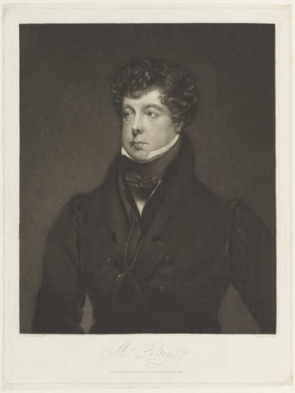 John Liston, by Henry Sadd, published by  Thomas McLean, after  George Clint, published 23 April 1832 - NPG D19044 - © National Portrait Gallery, London
