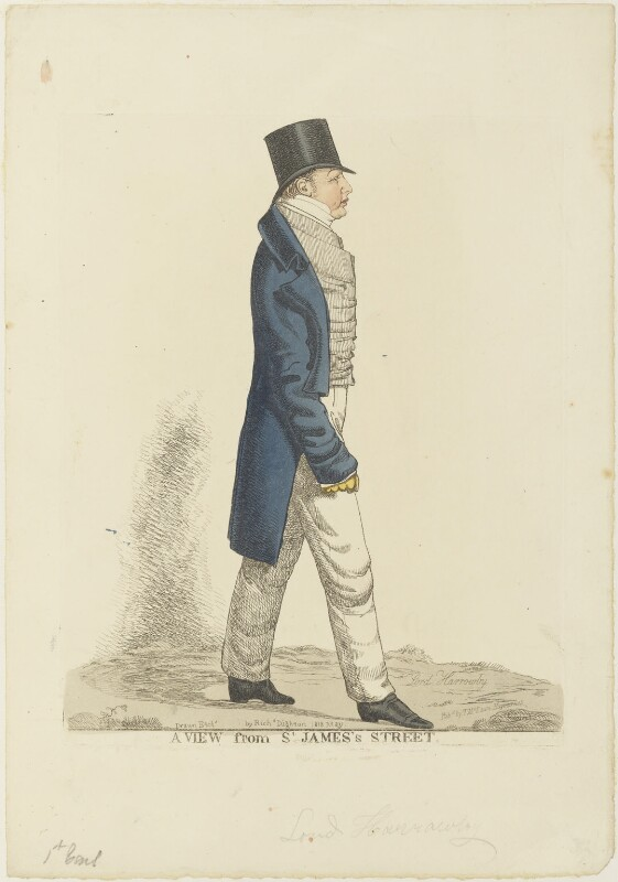 Dudley Ryder, 1st Earl of Harrowby ('A view from St James's Street'), by and published by Richard Dighton, reissued by  Thomas McLean, May 1818 - NPG D19047 - © National Portrait Gallery, London