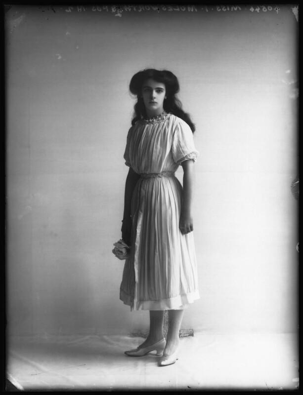 Hon. Irene Evelyn Beatrice Ash (née Molesworth), by Bassano Ltd, 7 April 1911 - NPG x102715 - © National Portrait Gallery, London