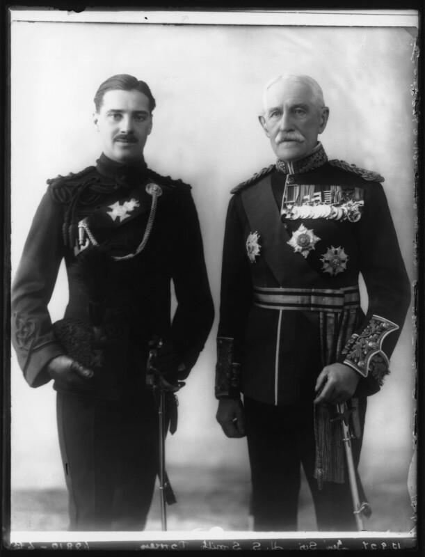 Grenfell Horace Gerald Smith-Dorrien; Sir Horace Lockwood Smith-Dorrien, by Bassano Ltd, 15 September 1927 - NPG x124366 - © National Portrait Gallery, London