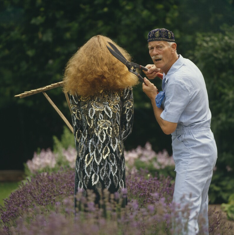 Norman Parkinson; Andrea Holterhof, by Charles ('Chuck') Zuretti, 1980 - NPG x30165 - © Norman Parkinson Ltd., courtesy of Fiona Cowan