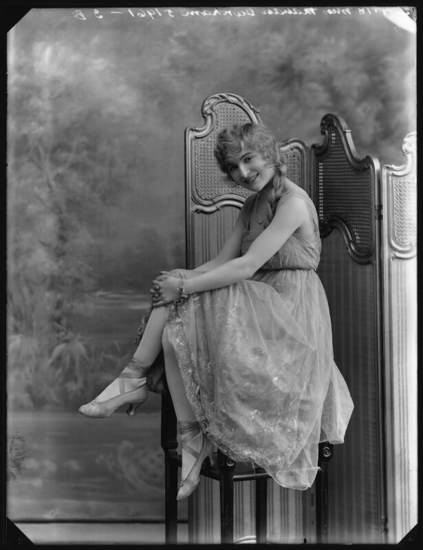 Maudie Dunham, by Bassano Ltd, 26 July 1918 - NPG x102773 - © National Portrait Gallery, London