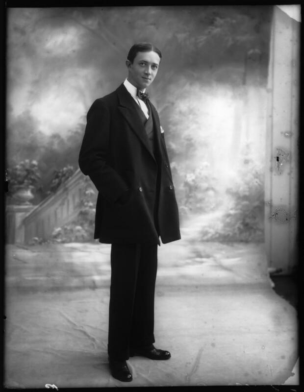 René Koval, by Bassano Ltd, 30 September 1912 - NPG x101607 - © National Portrait Gallery, London