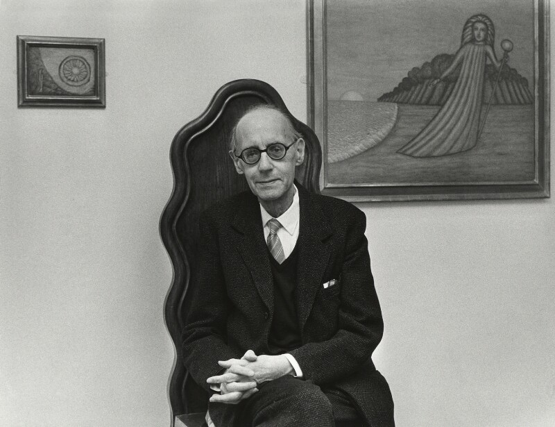 Cecil Collins, by Anne-Katrin Purkiss, July 1988 - NPG x32738 - © National Portrait Gallery, London