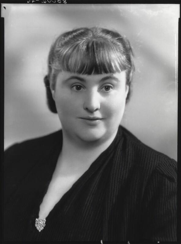 Margery Allingham, by Bassano Ltd, 23 June 1939 - NPG x27024 - © National Portrait Gallery, London
