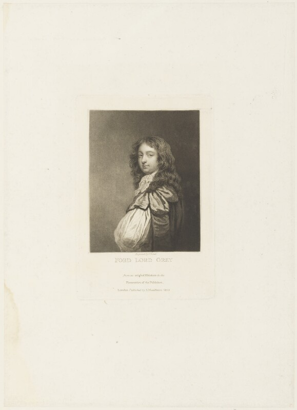 Forde Grey, Earl of Tankerville, by Charles Turner, published by  Samuel Woodburn, published 1813 - NPG D19110 - © National Portrait Gallery, London
