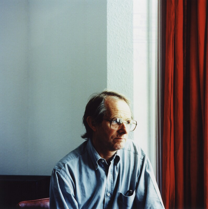 Ken Loach, by Steve Pyke, 1993 - NPG x45588 - © Steve Pyke