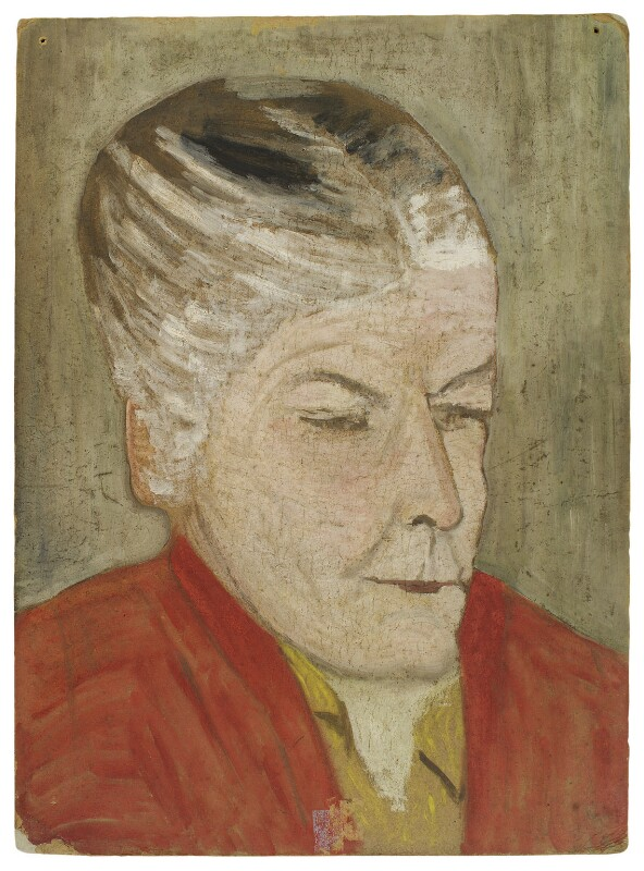 Unknown woman, by Rachel Pearsall Conn ('Ray') Strachey (née Costelloe), 1925-1937 - NPG D261 - © National Portrait Gallery, London