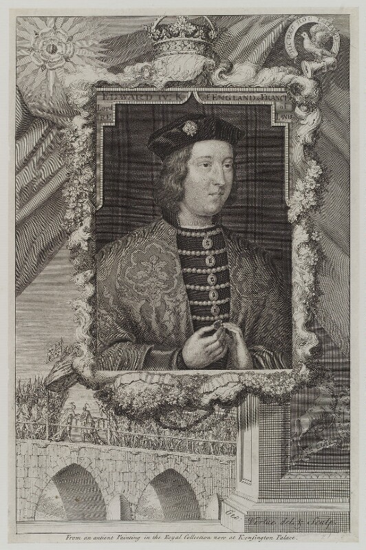 King Edward IV, by George Vertue, engraved 1735 - NPG D19137 - © National Portrait Gallery, London