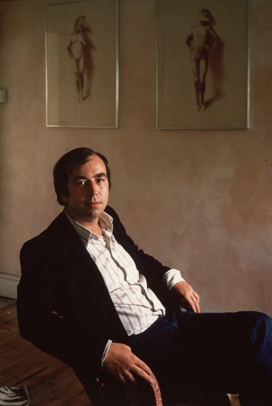 Adrian George, by David Reed, 1980 - NPG x76359 - © David Reed / National Portrait Gallery, London