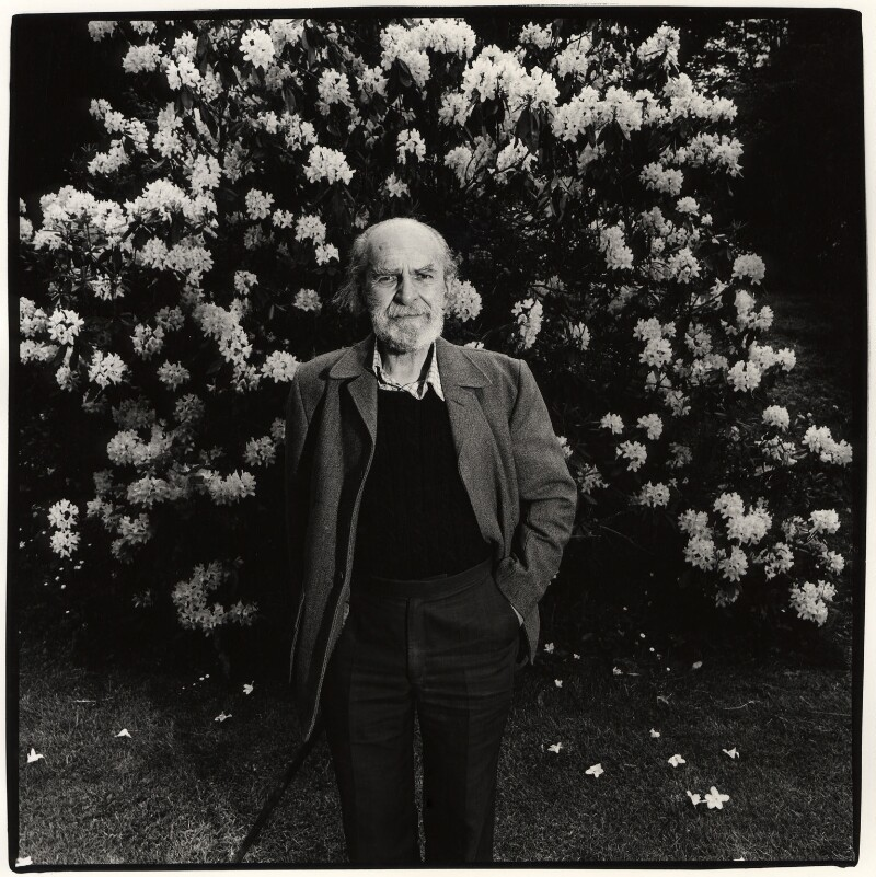Basil Bunting, by Dudley Reed, 1983 - NPG x35714 - © Dudley Reed / National Portrait Gallery, London