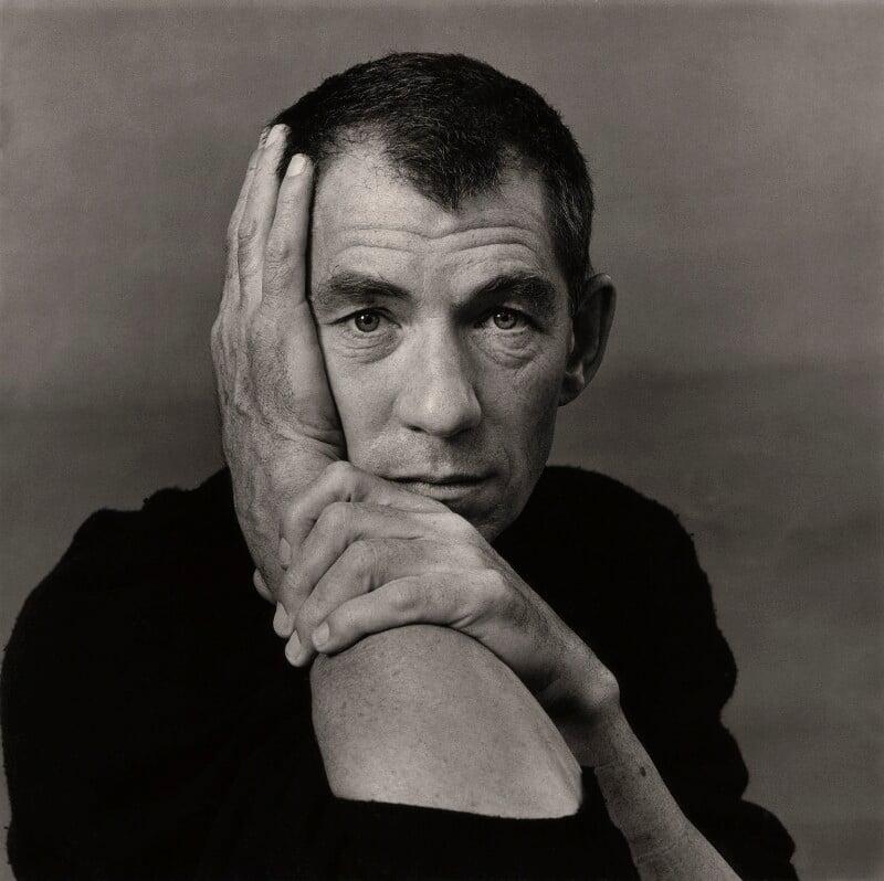 Ian McKellen, by Tim Richmond, November 1988 - NPG x32109 - © Tim Richmond