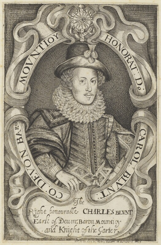 Charles Blount, Earl of Devonshire, published by Henry Balam, circa 1600-1625 - NPG D19216 - © National Portrait Gallery, London