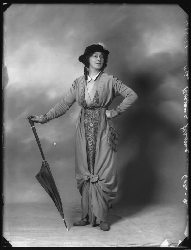 Rowena Jerome, by Bassano Ltd, 1913 - NPG x102928 - © National Portrait Gallery, London