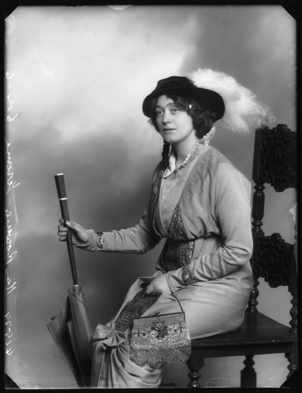 Rowena Jerome, by Bassano Ltd, 1913 - NPG x102930 - © National Portrait Gallery, London