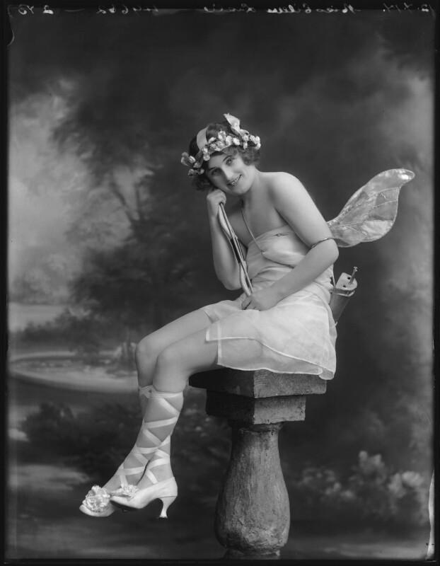 Eileen Leslie, by Bassano Ltd, 11 July 1917 - NPG x102932 - © National Portrait Gallery, London