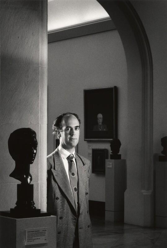 Sir Charles Robert Saumarez Smith, by Philip Sayer, 21 October 1994 - NPG x68919 - © Philip Sayer