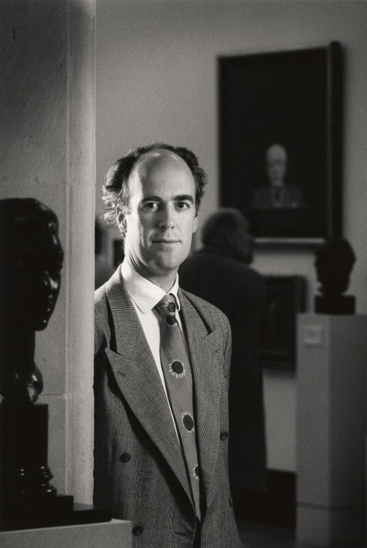 Sir Charles Robert Saumarez Smith, by Philip Sayer, 21 October 1994 - NPG x68920 - © Philip Sayer