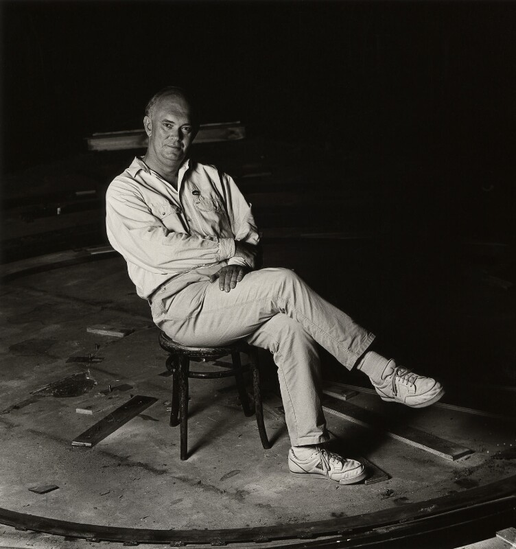 Sir Alan Ayckbourn, by Magda Segal, 1980s - NPG x36169 - © Magda Segal