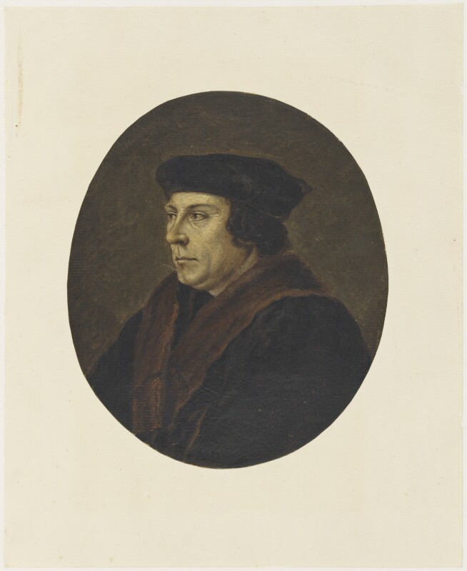 Thomas Cromwell, Earl of Essex, after Hans Holbein the Younger, (circa 1525-1550) - NPG D19228 - © National Portrait Gallery, London