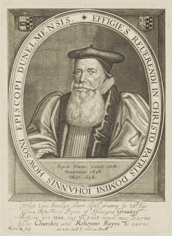 John Howson, by Martin Droeshout, published by  William Peake, published 1630s - NPG D19250 - © National Portrait Gallery, London