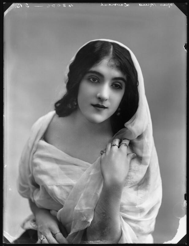 Mina Leonesi, by Bassano Ltd, 1914 - NPG x102976 - © National Portrait Gallery, London