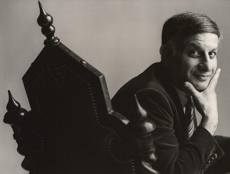 Naim Ibrahim Attallah, by John Swannell, late 1970s - NPG x35960 - © John Swannell / Camera Press