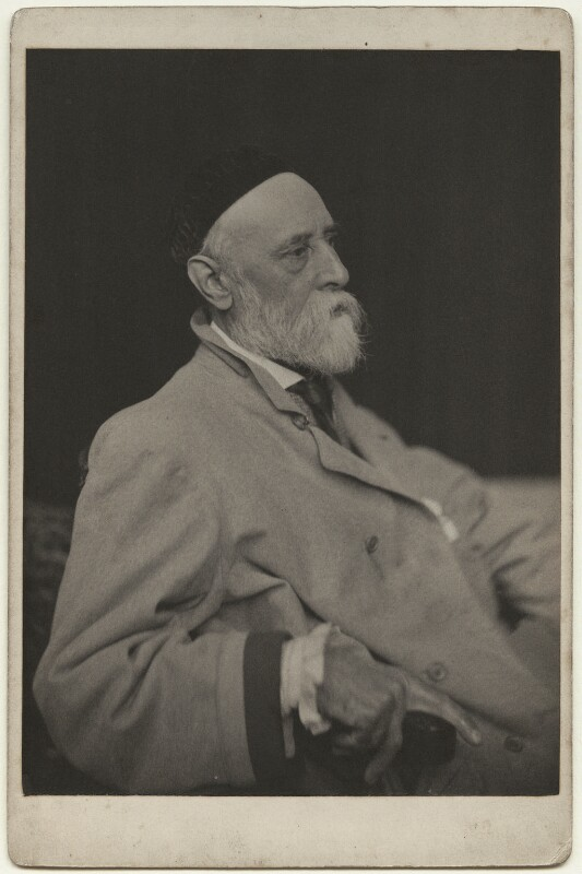 George Frederic Watts, by Frederick Hollyer, 1880 - NPG x20029 - © National Portrait Gallery, London