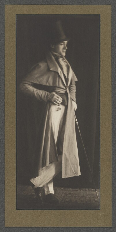 Harley Granville-Barker, by Frederick Henry Evans, 1900 - NPG P1033 - © National Portrait Gallery, London